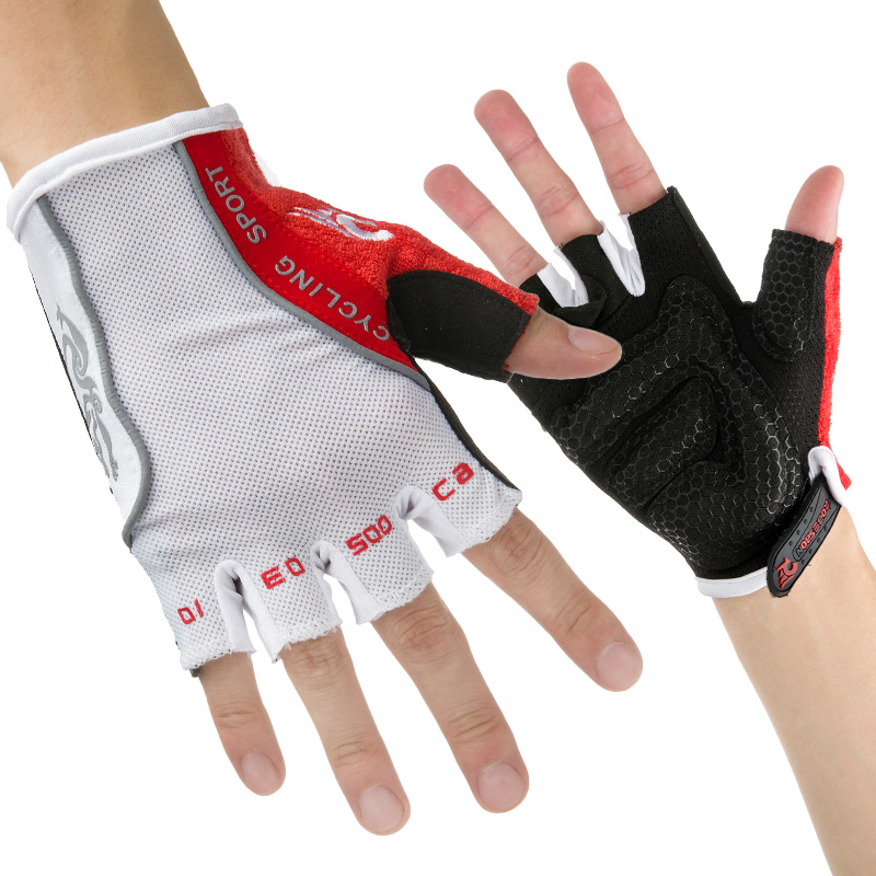 ROBESBON Summer Outdoor Sports Mountain Cycling font b Gloves b font Half Finger Male Bike font