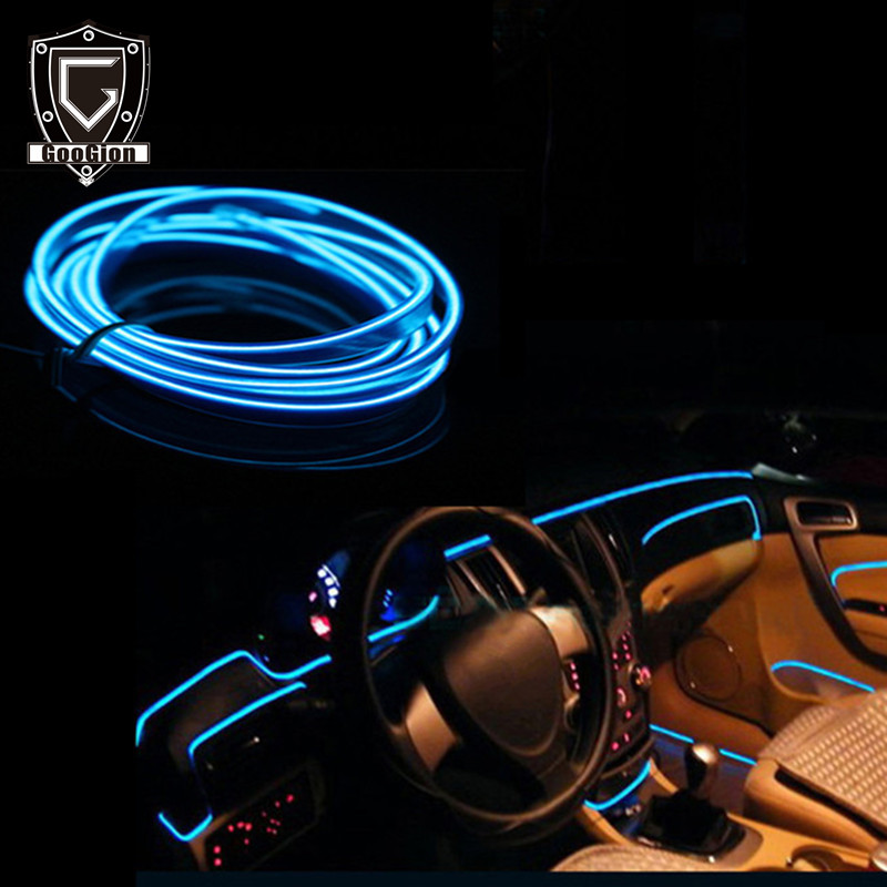 Googion Interior Car Lighting El Led 12v Car Interior Light Accessories Auto Lamp For Cars Light