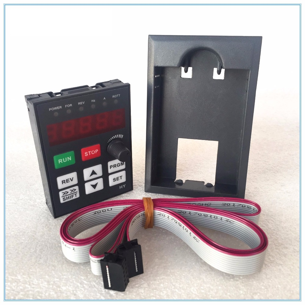 Hotsale 1pcs Control Panel+1pcs 1.5m Extender Wire/prolong Cable For HY HuanYang Variable Frequency Drive Vfd Inverter