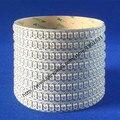 Branco PCB 3.2FT 1 M 144 Leds WS2812B 5050 RGB Tira CONDUZIDA WS2812 Indivadual Endereçável Não-impermeável