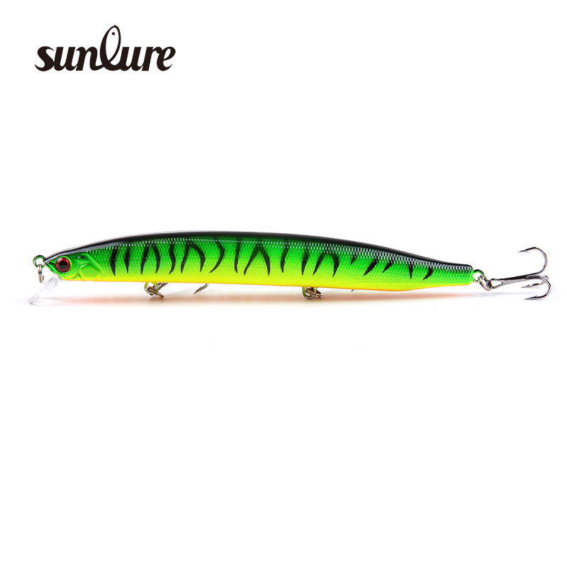 1pcs Fishing Lure Plastic Hard Bait 13.8cm/19g long Minnow Pesca Fishing Tackle Isca Artificial Bait Crankbait Swimbait ZB256 1pcs diving minnow fishing lure 9cm 26g isca artificial hard bait pesca wobbler crankbait 6 hook 3d eyes fishing tackle ye 11