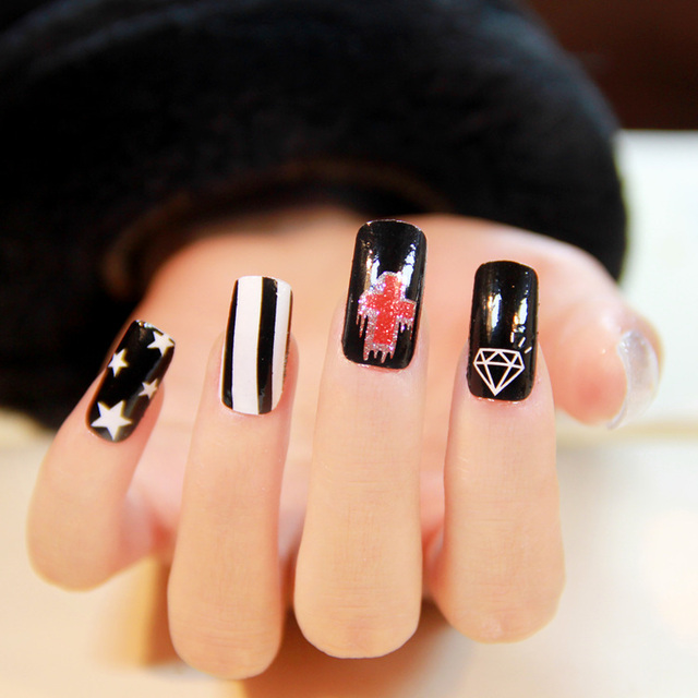 1 New Designs 2014 Nails Art Stickers Diy Nail Decorations High