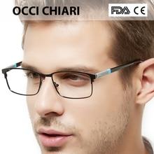16e8b5ae72 OCCI CHIARI 2018 Black Rectangular Full Rim Classic Optical Eye Glasses  Frames