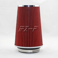 hot sale neck 101mm turbo high flow racing cold air intake washable mushroom head air filter/car air filter free shipping