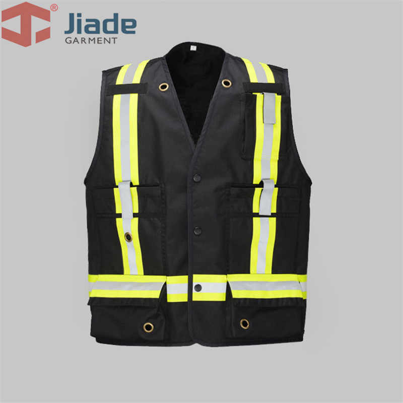 Jiade High visibility Flame Retardant Work Vest FR vest free shipping
