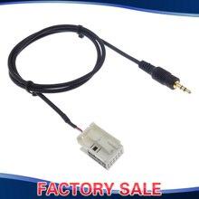 3.5MM Male AUX Connector Audio Cable Adapter For Peugeot 307 308 408 407 507 Sega Triumph Citroen C5 C2 RD4