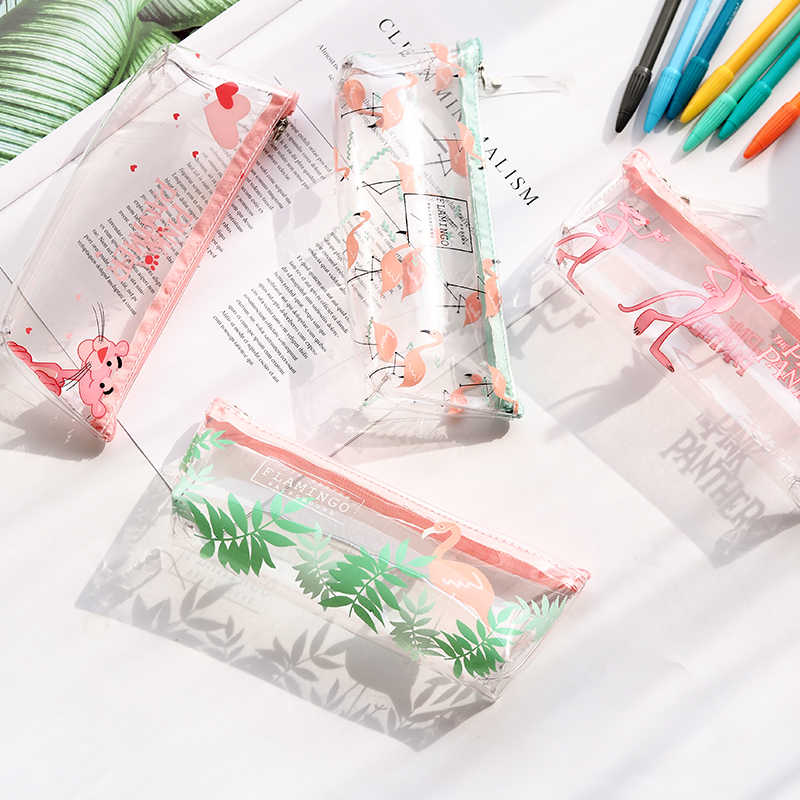 Kawaii Doll piórnik jakości szkolne artykuły papiernicze prezent piórnik szkoła ładny ołówek Box narzędzia szkolne