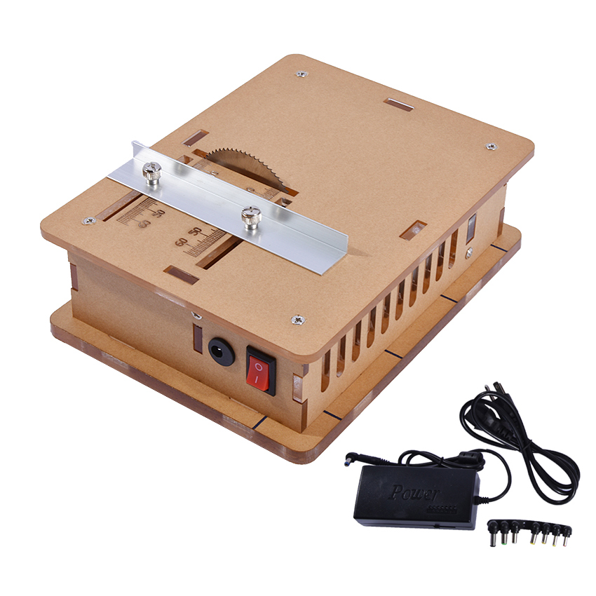 Transparent Acrylic Miniature Table Saw Cutting Wood Cutting Machine Board DIY Mini Table Saw, Woodworking Table Saws 12V - 24v