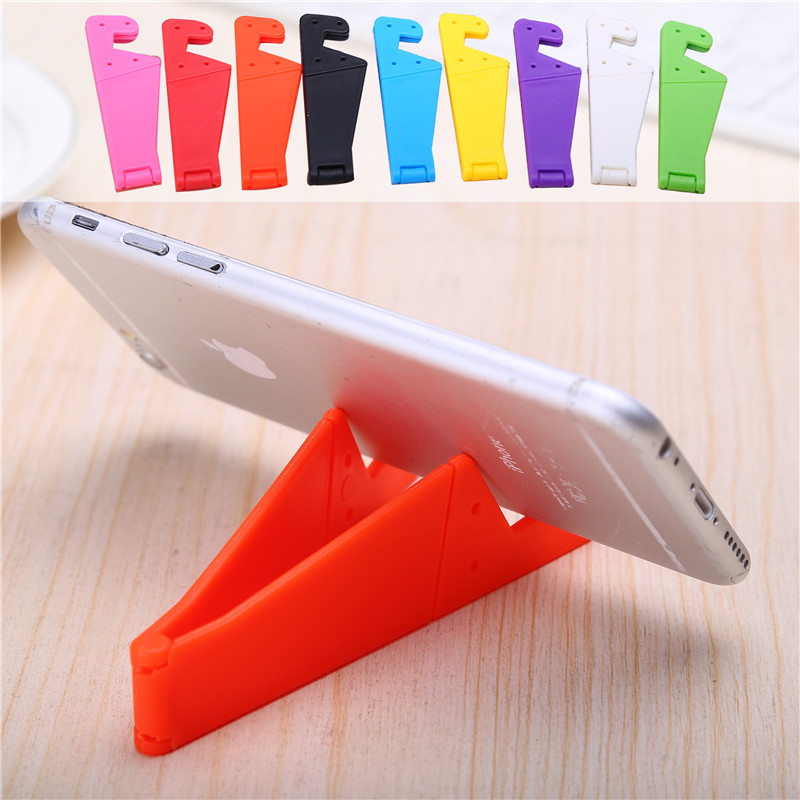Cute V Shape Multi-function Mobile Phone Holders Stands Lovely Portable Phone Stand For IPhone 5 6 7 Samsung Xiaomi