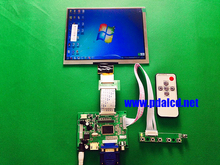 HDMI/VGA/AV Control Driver Board + 8″inch HE080IA-01D 1024*768 IPS high-definition LCD Display For Raspberry Pi
