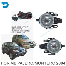 2003-2006 PAJERO FOG LAMP MONTERO V73 front FOG LAMP 2003 v75 assemble fog lamp cover support wire and switch