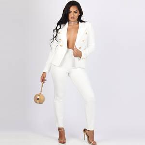Best Casual Pants Suit White Women Suit List