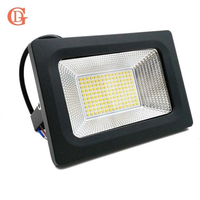 GD светодиодный Прожекторы 30 Вт 50 Вт 100 Вт 150 Вт IP66 на открытом воздухе 220 V теплый белый холодный белые прожекторы IP66 Водонепроницаемый наполь...