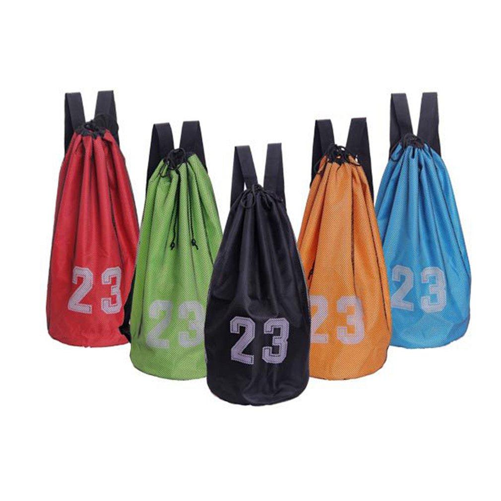Large Basketball Bags For Balls Soccer Drawstring Mash Pack Fitness Net Pocket Outdoor Basketball Backpack For Men Women