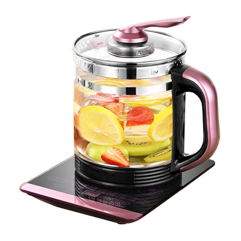 NEW Electric kettle automatic power cut off household heating transparent glass thermostat mini tea pot