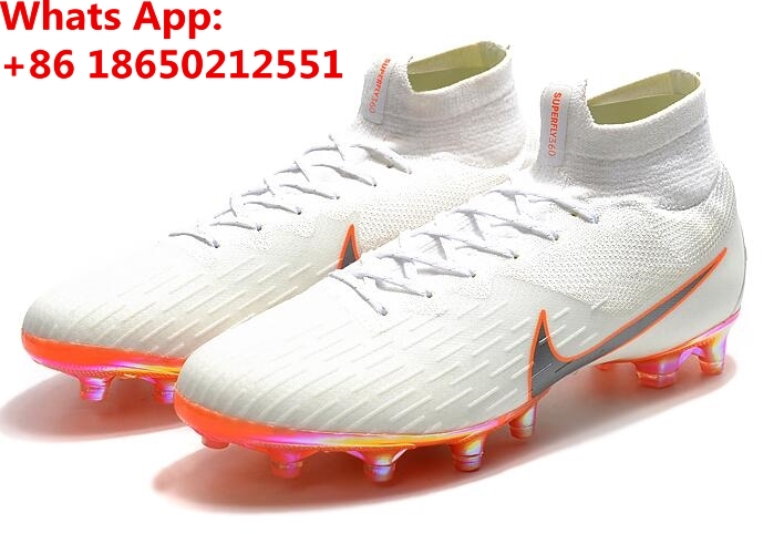 47e3e274653 Mercuriales Superfly V FG AG CR7 Ronaldo Soccer Cleats High Ankle Neymar JR  Shoes Magista Obra Hypervenom Football Boots F65-in Soccer Shoes from  Sports ...