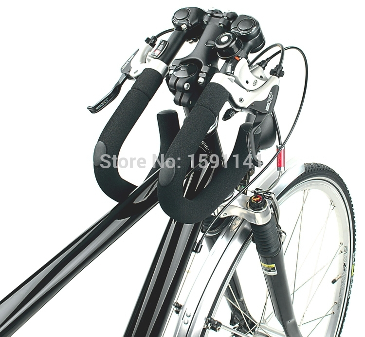 HUMPERT X-ACT bike bicycle handlebar adjustable butterfly handlebar folding handlebar Long-distance Rest handlebar nuckily r007 bike bicycle pu handlebar tape belt wrap white