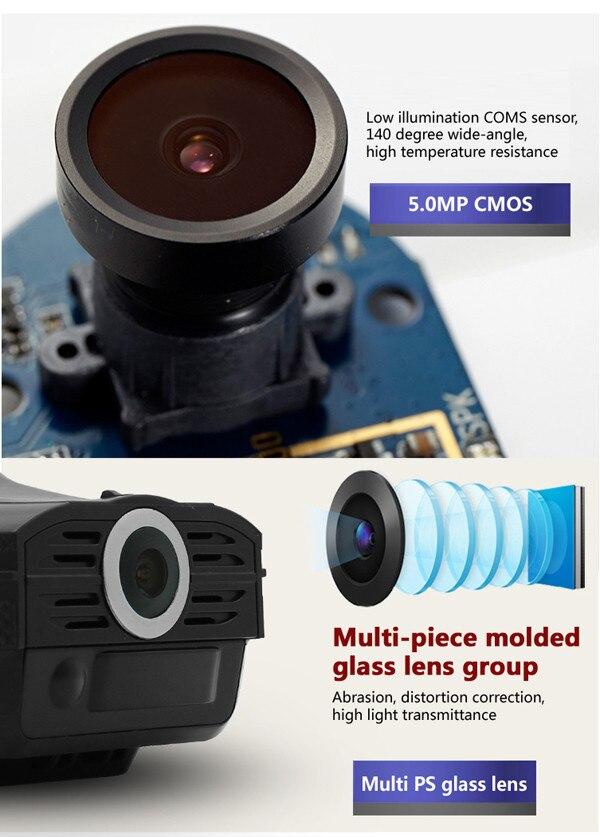 Detector de Radar Anti coche 2,4 Cámara DVR + GPS 3 en 1 Detección de velocidad HD 1280*720 P detector de voz VGR 3 ruso compatible con sensor G - 4
