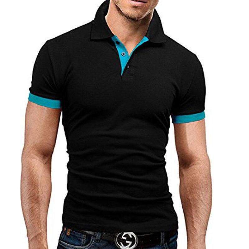 Men Cotton Short Sleeve shirt Brands jerseys Summer Mens   polo   Shirts Plus Size M-3XL Brand New Men's   Polo   Shirt High Quality