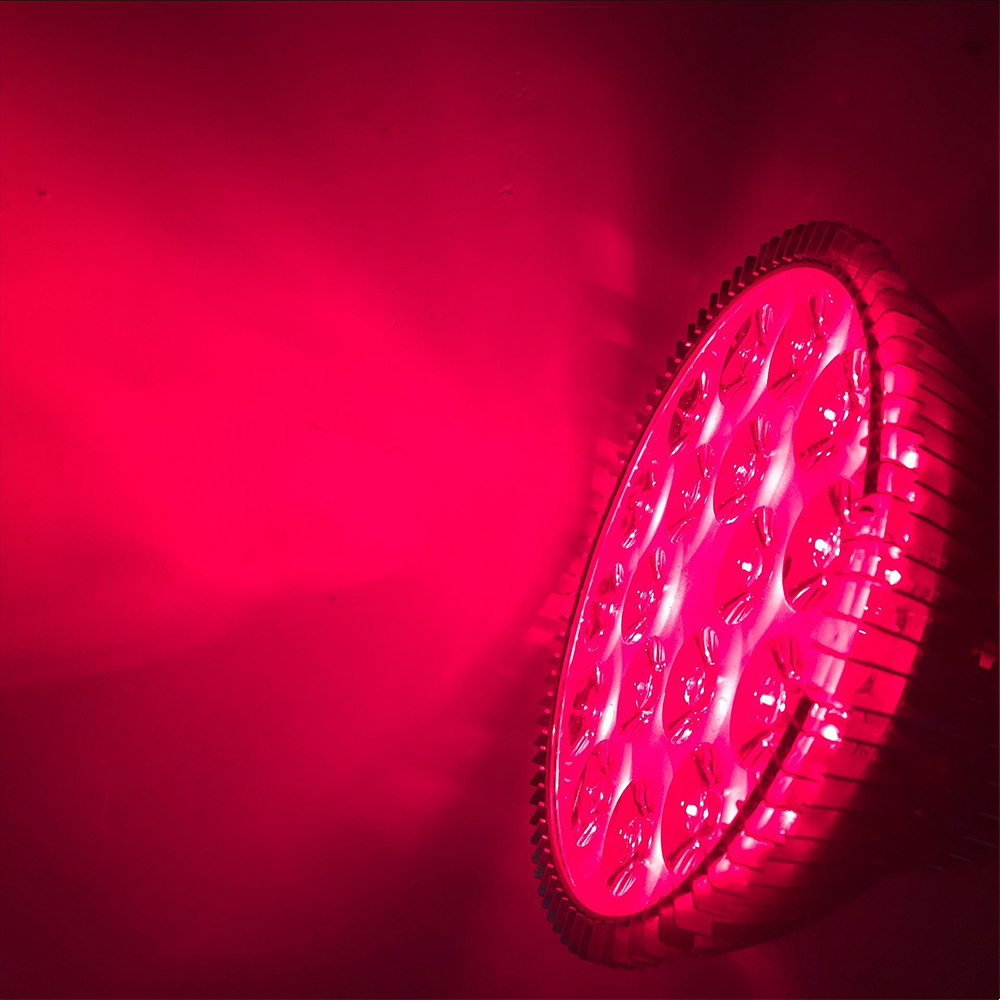 Plants Grow Light Deep Red 660nm LED Light Bulb Bloom Booster for Flowering Fruiting Grow Spectrum Enhancement and Light Therapy