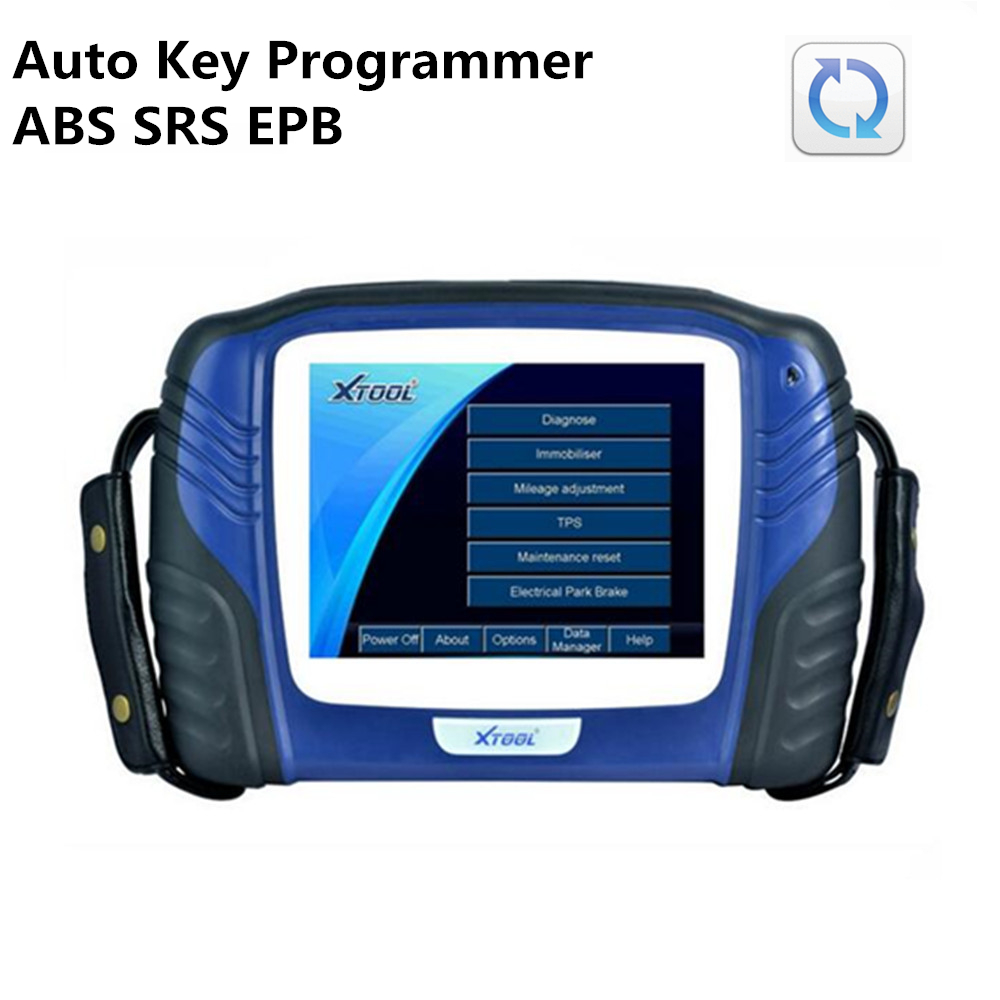 XTOOL PS2 GDS OBD2 Auto Key Programmer Immobilizer Universal Car Diagnostic Tool ABS SRS EPB Update Online Gasoline Version