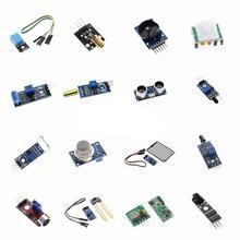 Raspberry pi 2 3 модуль датчика посылка HC-SR04 501 DHT11 DS3231 KY-008 датчик звука дождя почвы для arduino kit
