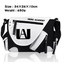 New My Hero Academia Shoulder Messenger Bags Canvas Student School Bags Satchel Crossbody Bag Travel Work Casual Bags Gift