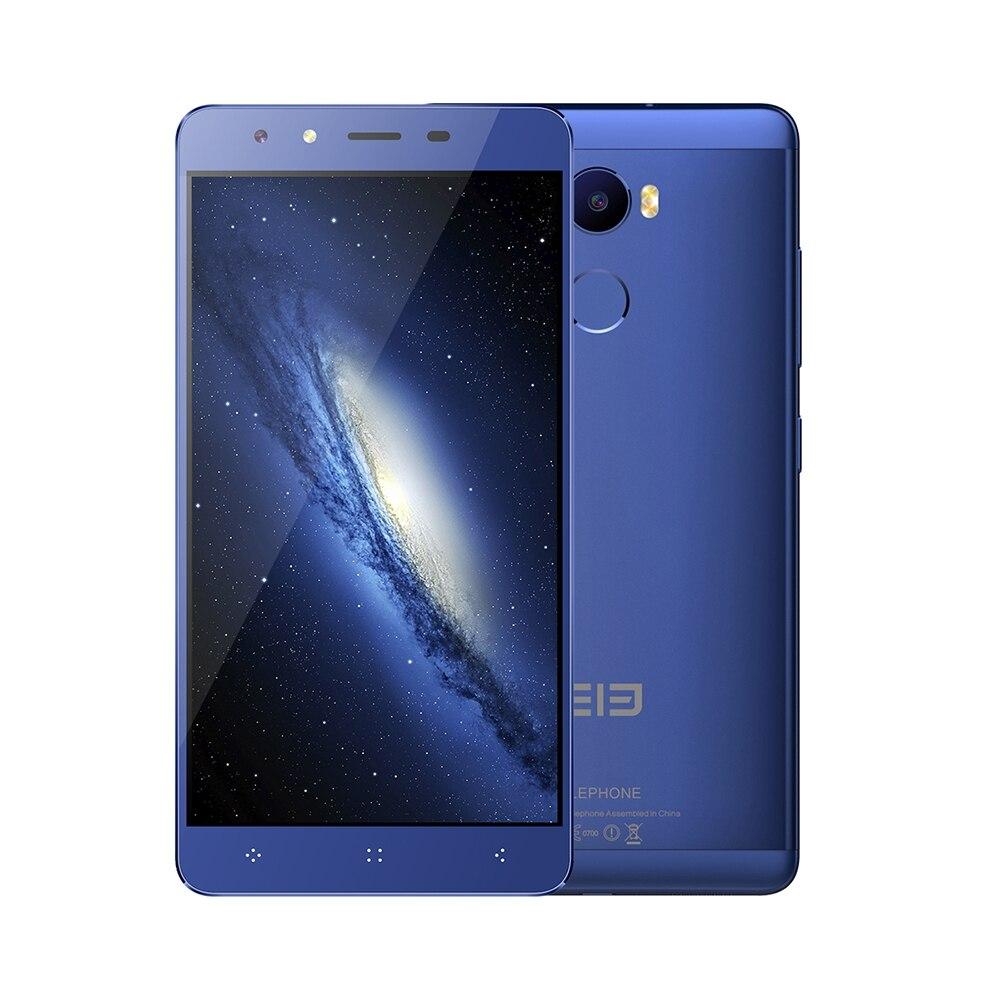 "Цена за Elephone C1 4 Г MTK6737 Phablet Смартфон Quad Core Android 6.0 5.5 ""Сканер отпечатков пальцев OTG A GPS 2 ГБ + 16 ГБ Dual SIM Сотовый Телефон"