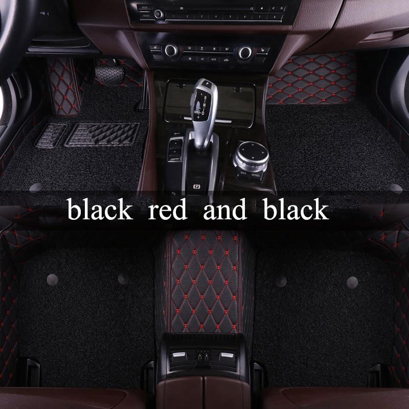 kalaisike Custom car floor mats for Alfa Romeo All Models Giulietta 159 2014 4c Mito car accessories car styling floor mats
