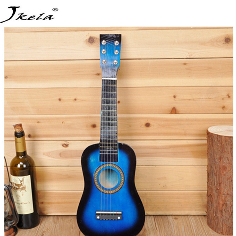 [Hot] Musical Toy Ukulele Small Guitar For Beginners Kids Child Wood Guitar for Girls and Boys andrew zebra in the 23 inches mr kerry wood small guitar beginners gray unisex ukraine lili