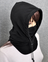2017 New Arrival Gorro Gorros Winter Hat Women's Windproof Face Mask Muffler Scarf Fleece Wigs Female Knitted Outdoor Cap 2112