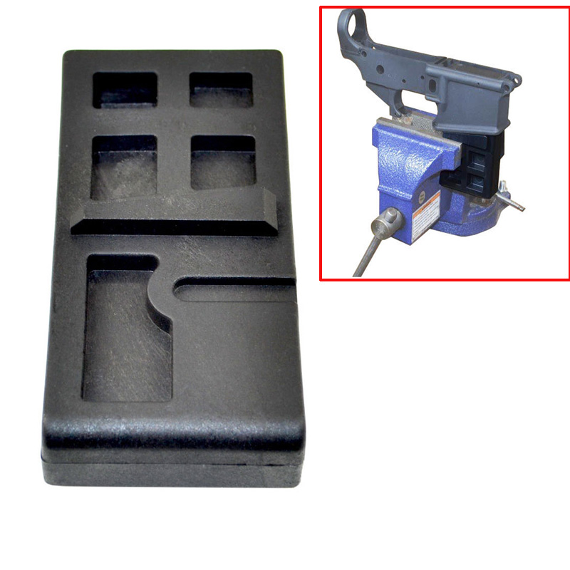 Receiver Gunsmithing Ar-Lower-Vise-Block Hunting-Accessories Cleaning-Repair Tactical