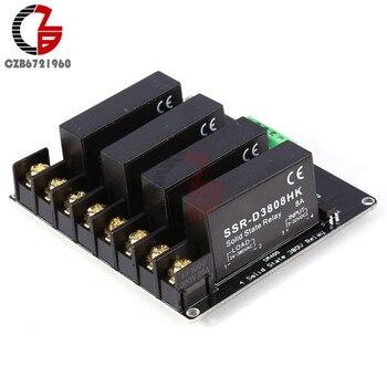 380 โวลต์ 8A 4 Channel SSR Solid State Relay H-L สำหรับ Arduino R3 Raspberry PI