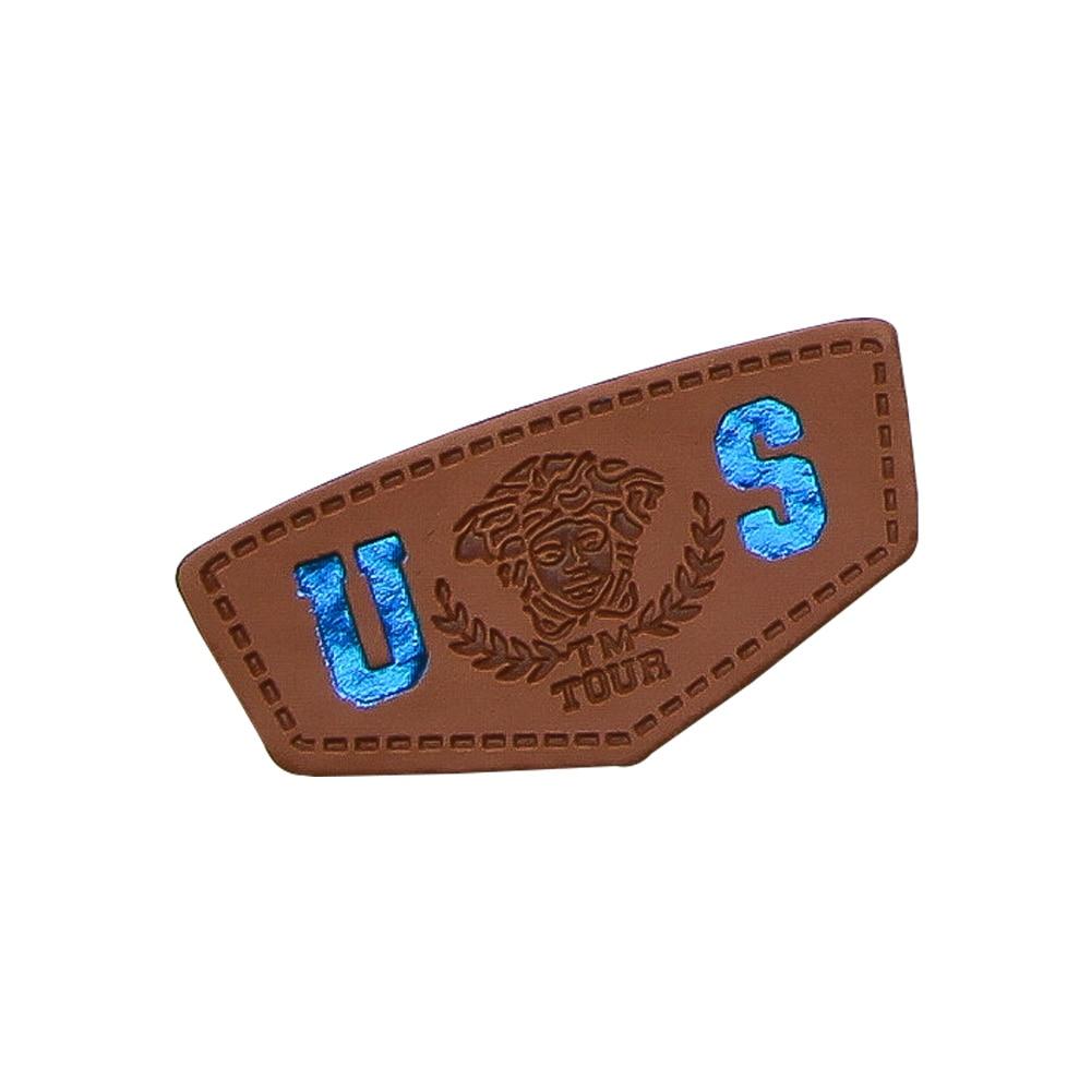 Custom leder tags für Kleidung Jeans PU leder label custom marke name Leder Bekleidungs Etiketten schlüssel label tags für handarbeit-in Kleidungs-Etiketten aus Heim und Garten bei  Gruppe 1