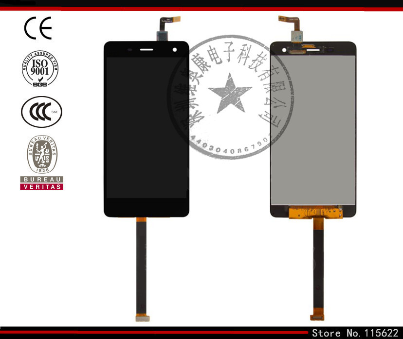 ФОТО LCD display screen for Xiaomi Mi4 Cell Phone, (black,white, original (PRC), with touchscreen,with Logo)
