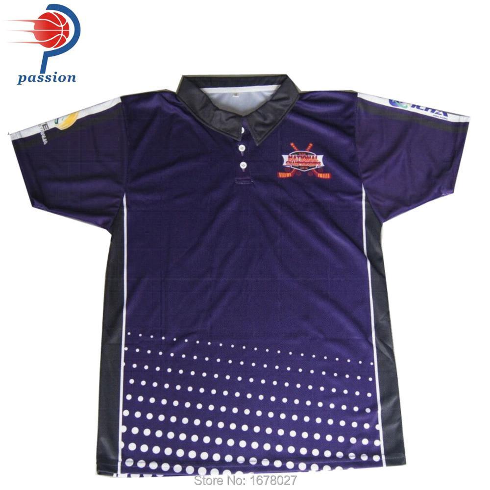 Free Shipping Polyester Men Polo Custom Sublimation Printing Polo