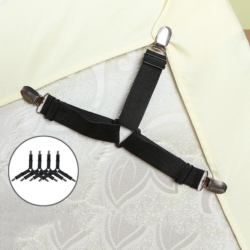 Fasteners Blankets Gadget Clips Mattress-Cover Grippers-Clip Belt Bed-Sheet Elastic Slip-Resistant