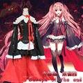 Anime Serafín de finales Krul Tepes Cosplay Lolita Vestido de Vampiro Traje Uniforme