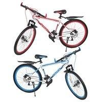 7スピードマウンテンバイク26インチ× 17インチフロントとリアディスクバイク30サークル可変mtbロードレース自転