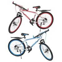 7 Speeds Mountain Bike 26 InchX17 Inch Front And Rear Disc Bike 30 Circle Variable MTB