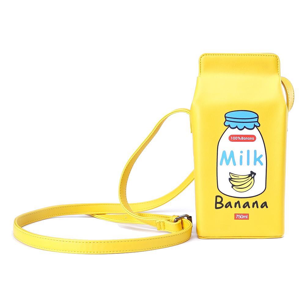 Kawaii Harajuku Milk Crossbody Shoulder Bag  1
