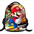 16 pulgadas de Dibujos Animados Niños Niños Mochilas de Dibujos Animados Super Mario Para Muchachos de Las Muchachas Jóvenes Bolsas gift2017 nuevo