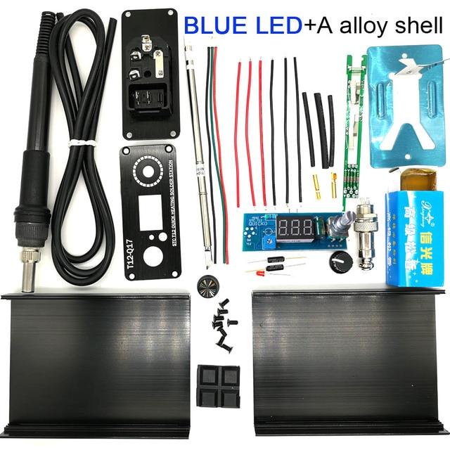 BLUE LED alloy shell