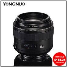 YONGNUO EF 85mm f/1.8 USM Medium Telephoto Lens for Canon SLR Cameras YN85mm f1.8 Fixed Focus Standard Lens for canon EF CAMERA