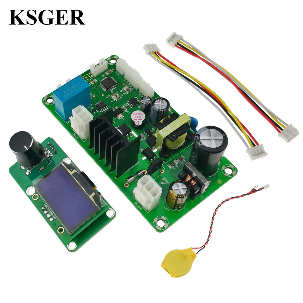 KSGER Hot Air Gun DIY Electric Power Tools Dryer Soldering Station Controller STM32 OLED T12 Iron