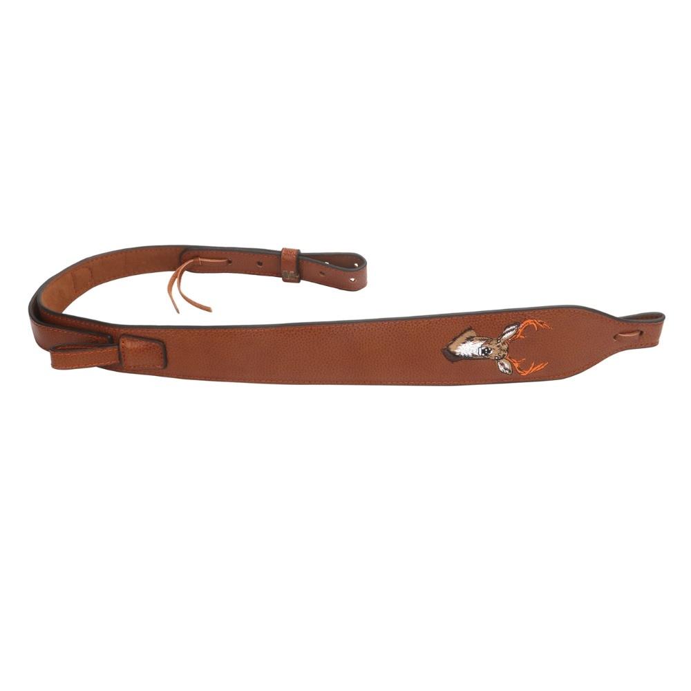 Tourbon Vintage Jachtgeweer Sling Lederen Jachtgeweer Schouderriem Pistool Dragen Riem Verstelbare 86-100 CM Gun Accessoires