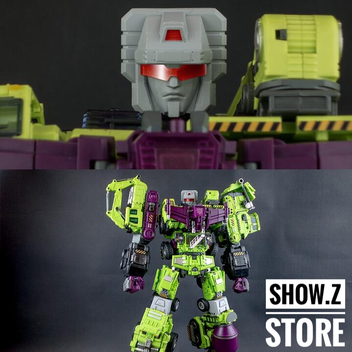 [Show.Z Store] Generation Toy GT-09 Upgrade Kit for GT-06 Devastator Transformation Action Figure cooper j f the deerslayer зверобой или первая тропа войны т 1 на англ яз