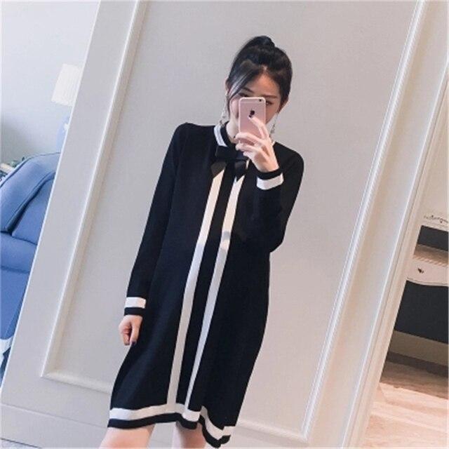 7957f19b65f1d Maternity Dresses Spring Fashionable Maternity Dresses Long Pregnancy Tops Tailored  Dress Pregnant Women Skirts Black 70R0174