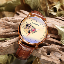 ORKINA Mens Watches Top Brand Luxury Rose Gold Designer Watch Vintage Skeleton Steampunk Male Clock Automatic Horloges MannenMechanical Watches
