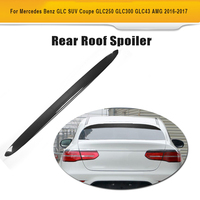 Carbon Fiber Rear Roof Lip Spoiler Window Wing for Mercedes Benz GLC Sport Utility GLC250 GLC300 GLC43 AMG 4 Door 2016 2017